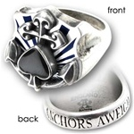 Anchors Aweigh Ring