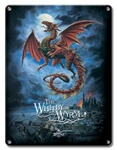 Whitby Wyrm - Metal Plaque