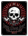Dead Mans Rest - Metal Plaque