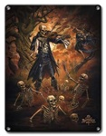 Danse Macabre - Metal Plaque