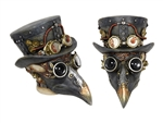 Steampunk Skull with Bird Mask