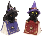 Witch Cats on Spellbook