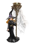 Standing Witch Backflow Incense Burner