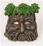 Greenman Incense holder and tealight