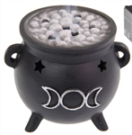 Triple Moon Cauldron Cone Burner