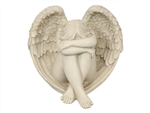 Angel weeping on tomb