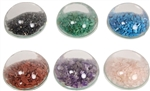 Gemstone Glass Paperweights