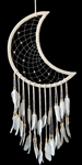 Crescent Moon Dream Catcher