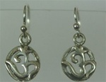 sterling omn earrings