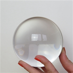 Medium Clear Crystal Ball