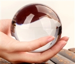Extra Large Clear Crystal Ball