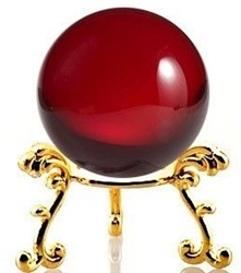 Large Colour Crystal Ball