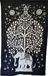 Elephant Tree Tapestry