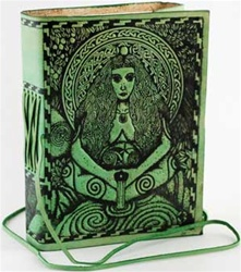 Goddess Leather bound journal
