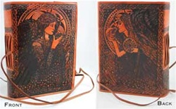 Angel Leather bound journal
