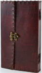 Latched Leather bound journal