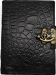 Black Dragon leather journal medium