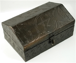 Metal Triple Moon box