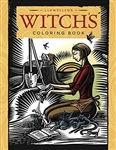 Witch's colouring book by Llewellyn