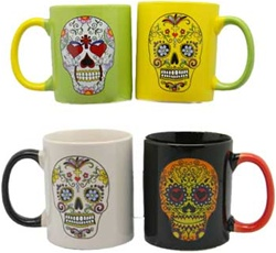Day of the Dead Coffee Mug set