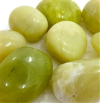 Lemon Jade Tumbled stone