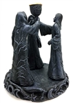 Maiden Mother Crone incense holder