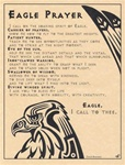 Eagle Prayer parchment poster