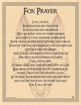 Fox Prayer parchment poster