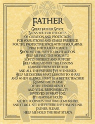 Great Father Spirit Parchment Poster