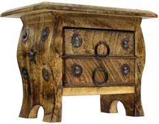 Pentagram small chest with drawers