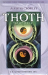 Thoth Tarot (small purple) deck