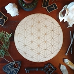 Seed Of Life Crystal Grid Board