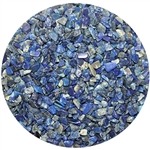 Bag of Lapis Lazuri gemstone chips