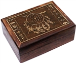 Native American Wooden Box