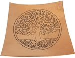 Copper Tree of Life Plate