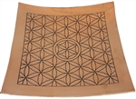 Copper Flower of Life Plate