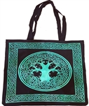 Green Tree of Life Tote Bag
