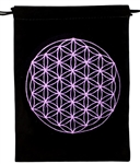 Flower of Life Tarot Bag