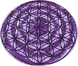 Round Flower of Life Tapestry