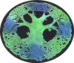 Round Celtic Tree Tapestry