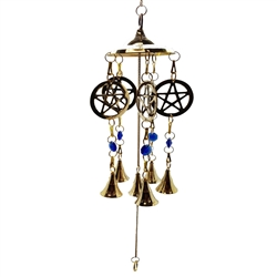 Pentacle Brass Wind Chime