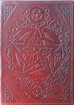 Pentacle Leather Folder cover