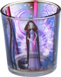 Goddess Glass Votive Holder