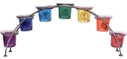 Chakra Symbols multi Votive Holder