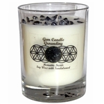 Harmonia Soy Candle Jar with Crystals - Grounding