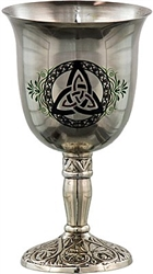 Pentacle Goblet Stainless Steel