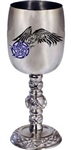 Celtic Raven Goblet Stainless Steel