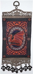 Red Dragon Carpet Wall Hanging