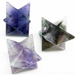 Merkaba Carved Crystals