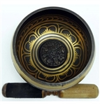 Singing Bowl with auspicious symbols